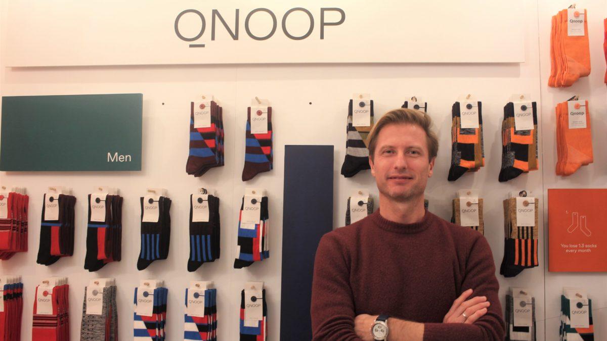 小さな工夫で、モノをもっと大事に。「片方ない!」をなくす靴下ブランドQnoop