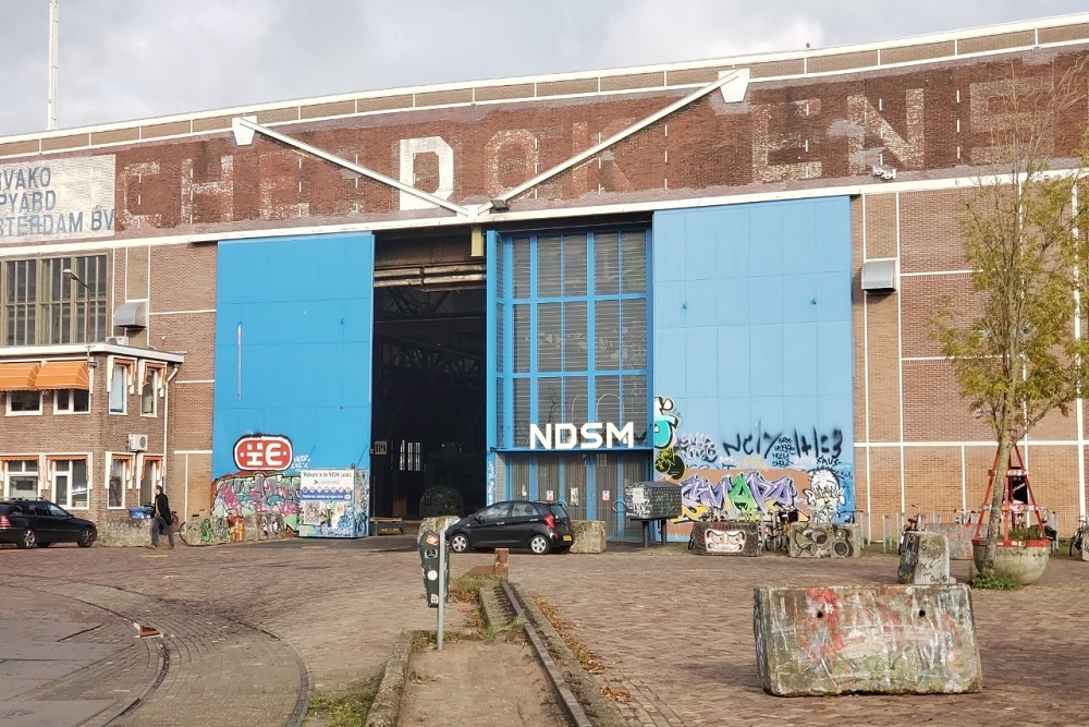 旧造船所をアートスペースに。都市の変遷を象徴するクリエイティブな港湾地区「NDSM」