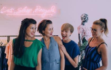 LENAファッションライブラリーの創業者4人