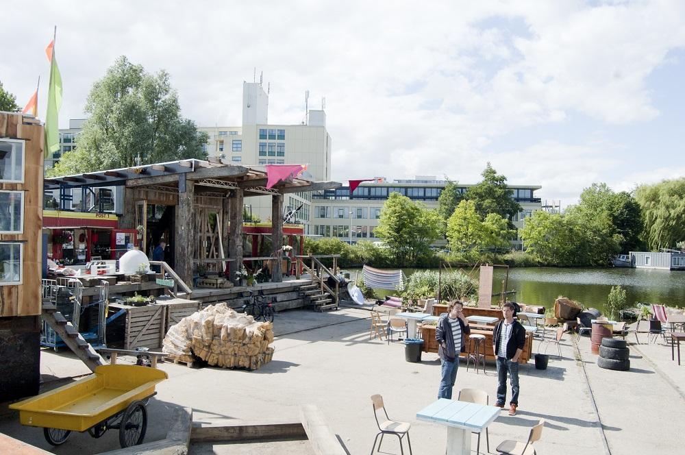 アムステルダムの官民一体型サーキュラーエコノミー実験区「De Ceuvel」