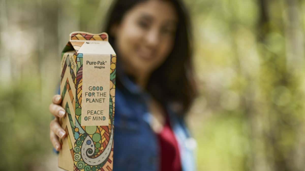 Elopak、100%木材ベースの飲料パッケージ「Pure-Pak® Imagine」を発表