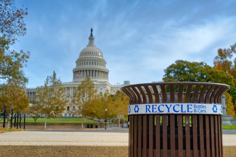 米60以上の企業などが参画するU.S. Plastics Pactが発足。2025年までに全容器包装プラの再利用・リサイクル・堆肥化可能へ