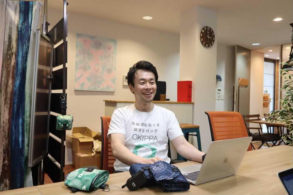 株式会社YPER 代表取締役社長の内山智晴さん