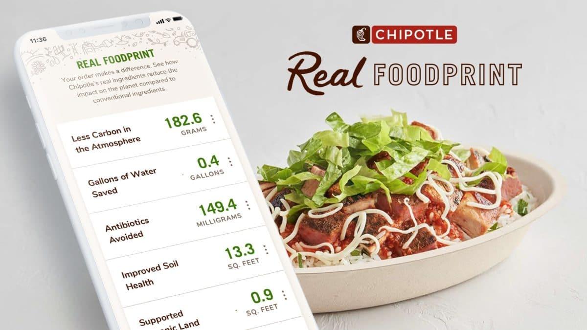 米Chipotle、食品のサステナビリティを追跡できる評価プログラム「Real Foodprint」を導入開始