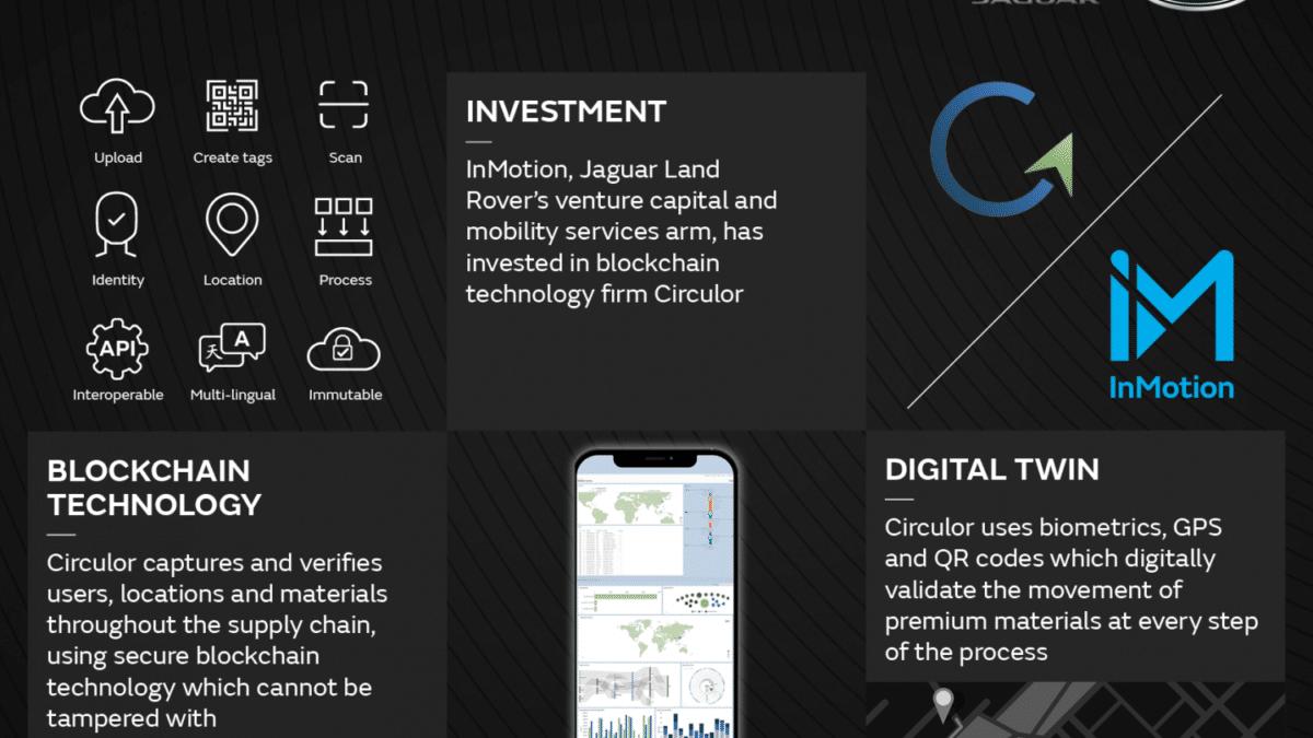 ジャガー・ランドローバー、英ブロックチェーン・テクノロジー企業に投資。持続可能な原材料調達に向けたトレーサビリティ確保促進へ