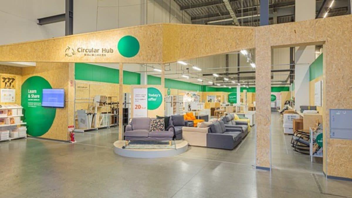 イケア、家具に第二の人生を与える「Circular Hub」をIKEA港北にオープン。買取家具や展示品を販売