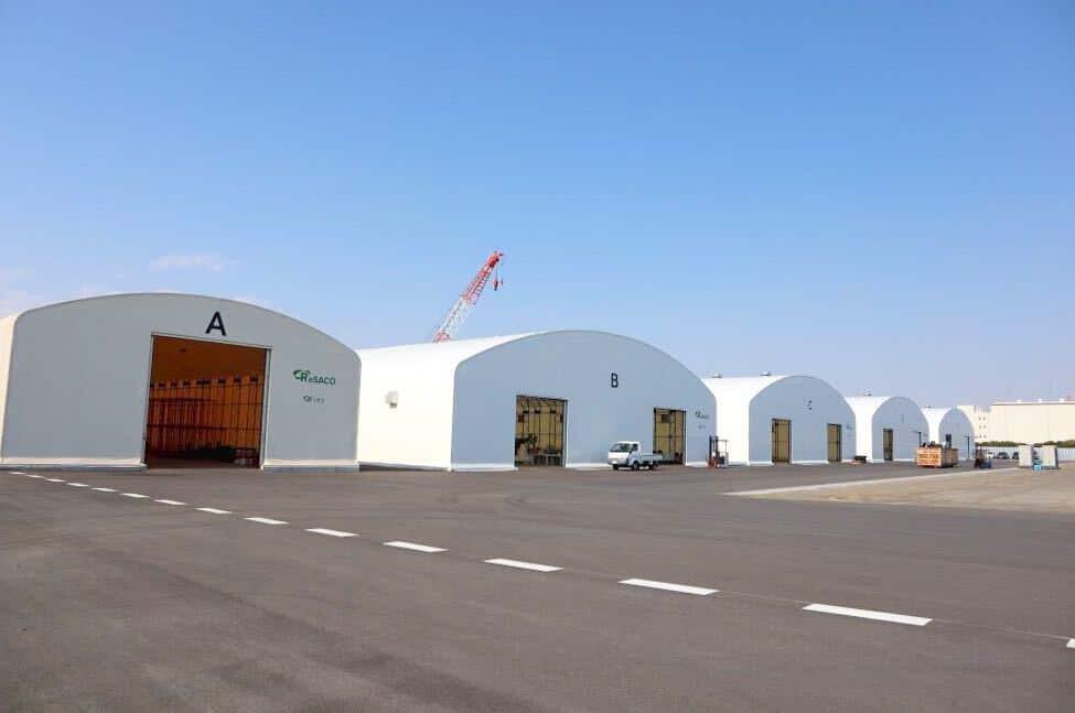 トライシクル社のリサイクルセンター