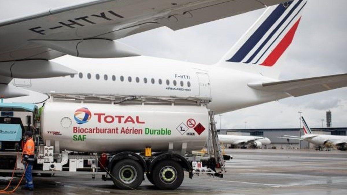 エールフランスKLMを含む4社、持続可能燃料で大陸横断飛行を実現