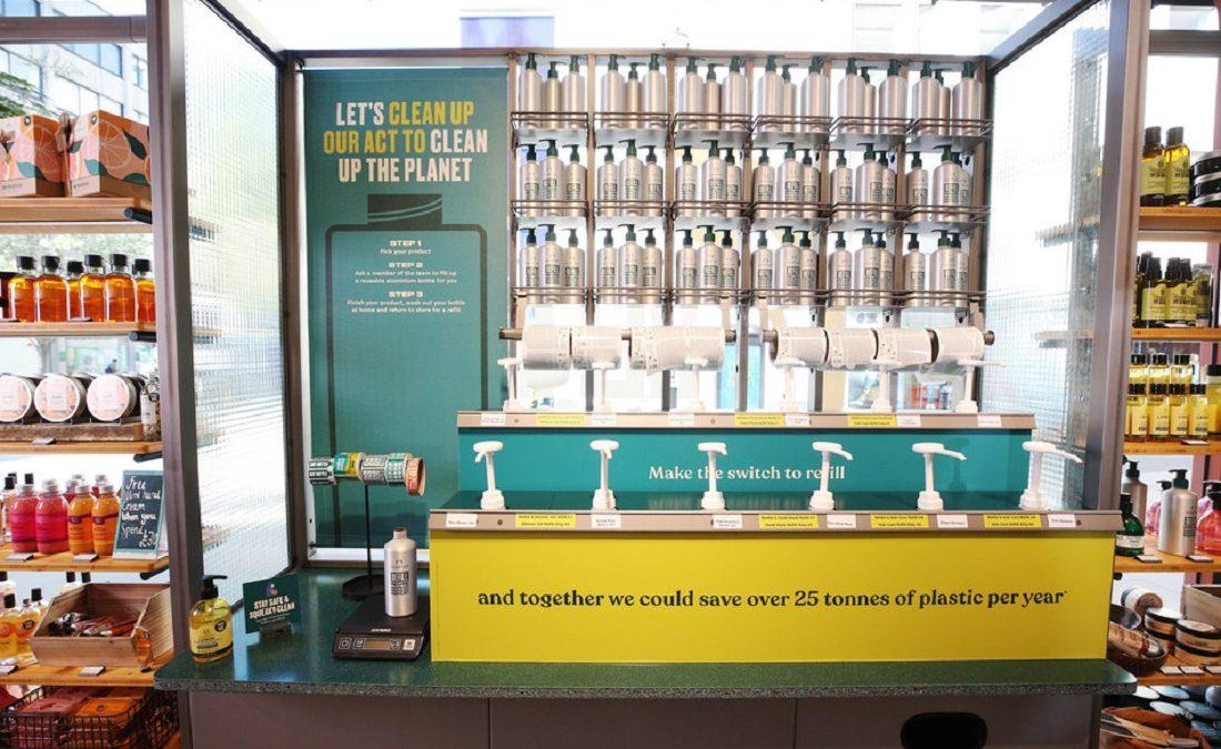 ザボディショップ、世界800店舗で詰め替えステーションを展開。全製品にヴィーガン認証取得へ