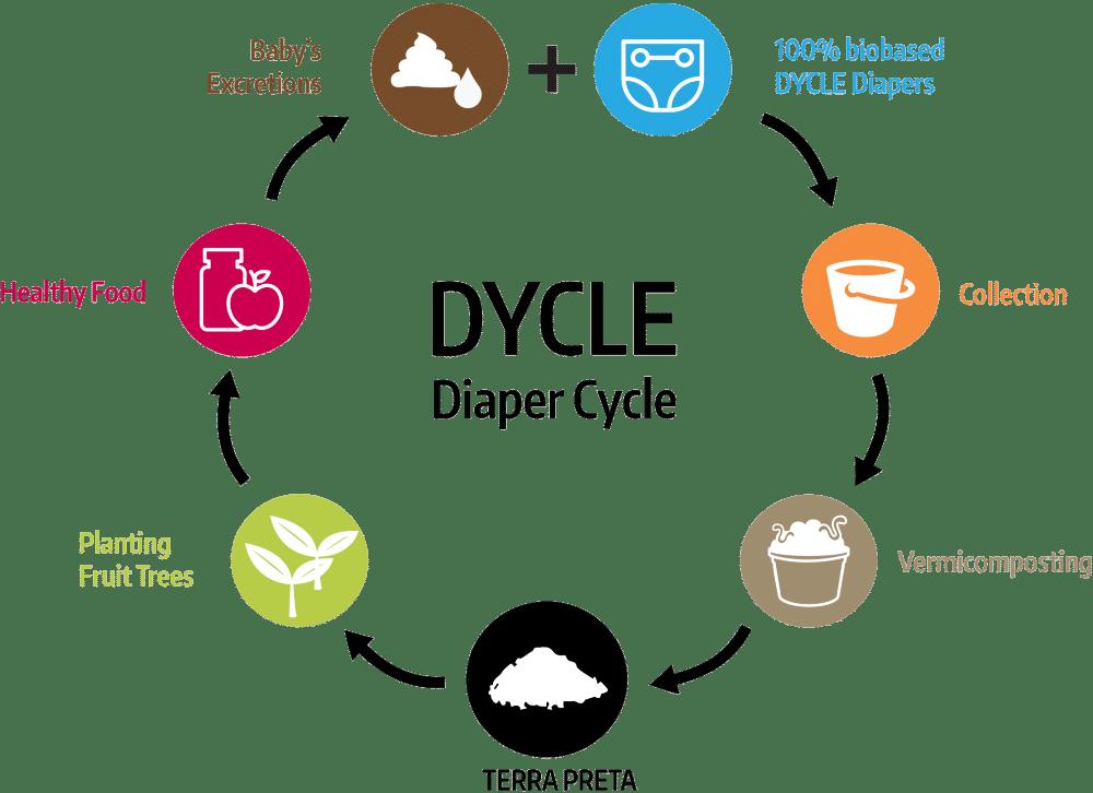 DYCLE循環の図