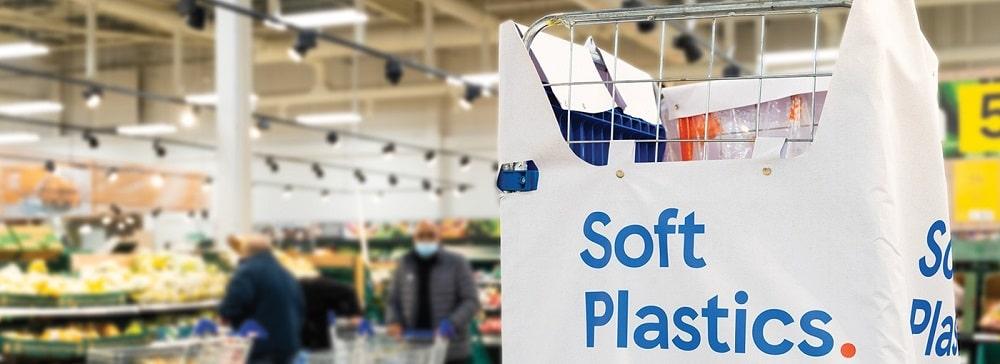 英テスコ、軟質プラスチック包装の回収を全大型店舗で開始。年間1,000トン回収が目標